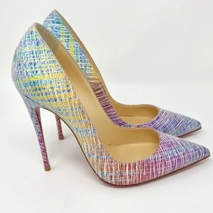 0631103fc3c4 Christian Louboutin · Christian Louboutin So Kate Ombré Red Sole Pumps